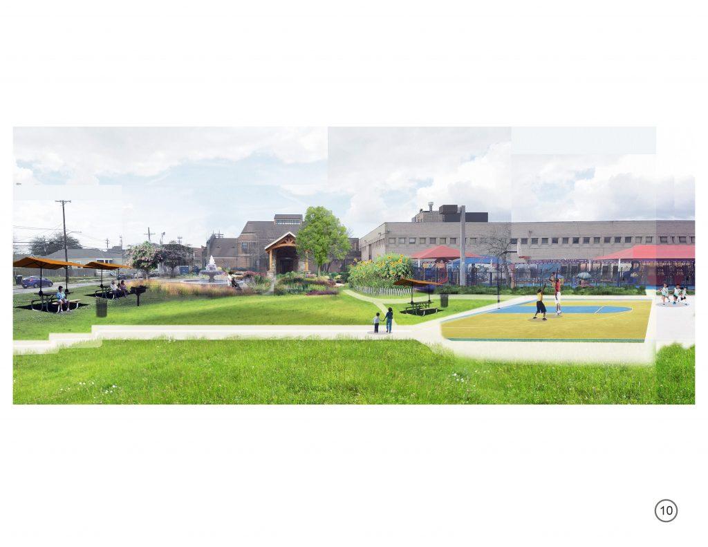 Park design simulation