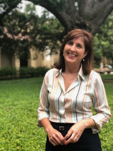 Julie Elliott in LSU Quad