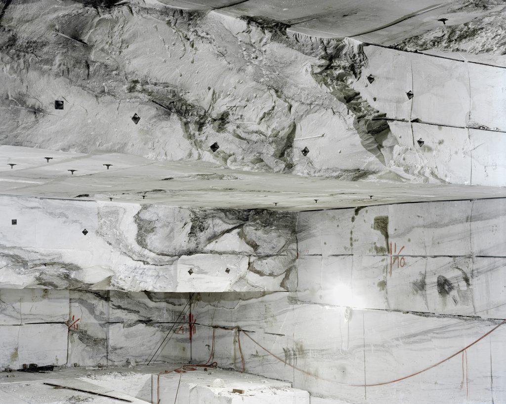 Uneven white terrain