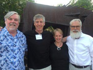 Four architecture scholars