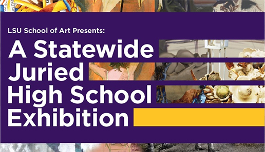 School of Art presents a statewide juried high school exhibition