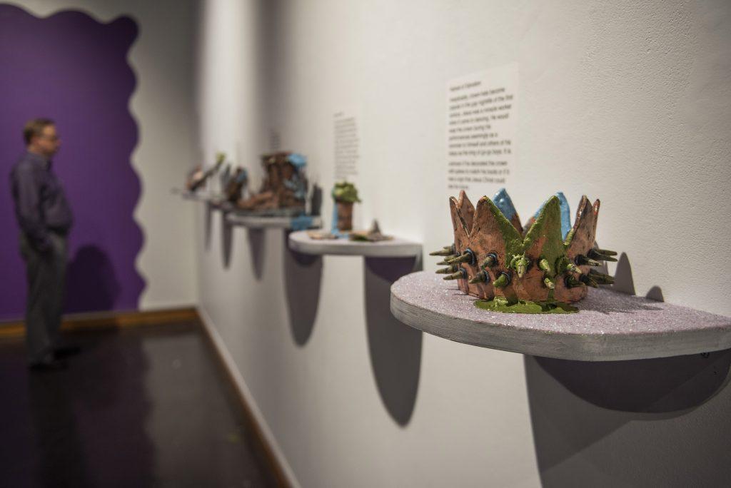 Ceramics in gallery