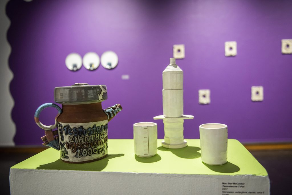 ceramics on table