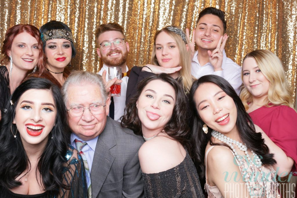 rt students and faculty at 2020 ADDY Awards