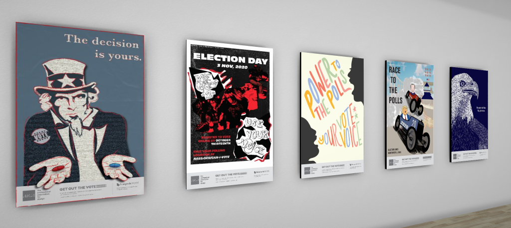 Election Day Go Vote posters