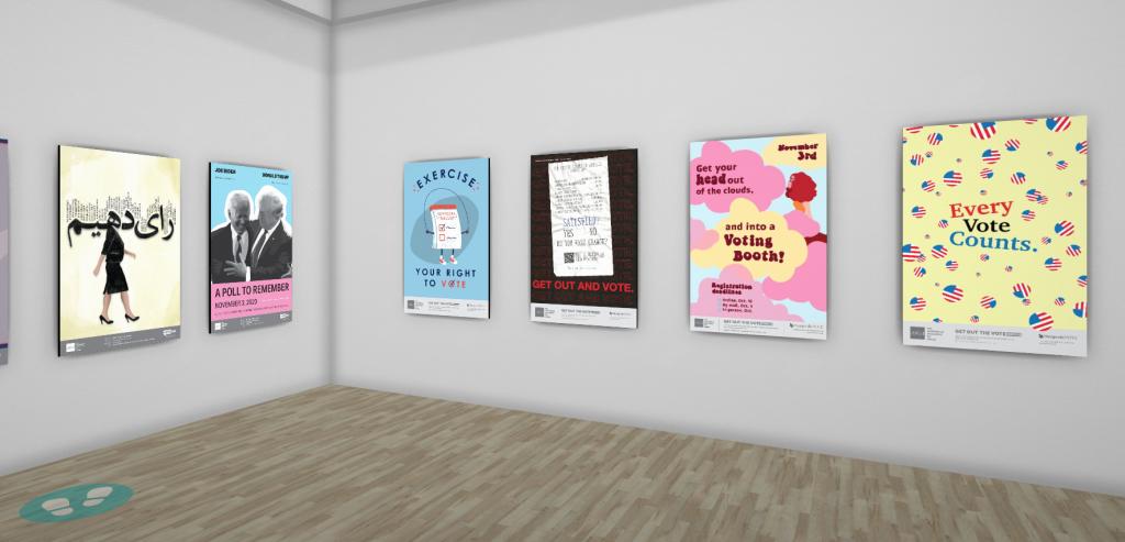 Go Vote poster designs