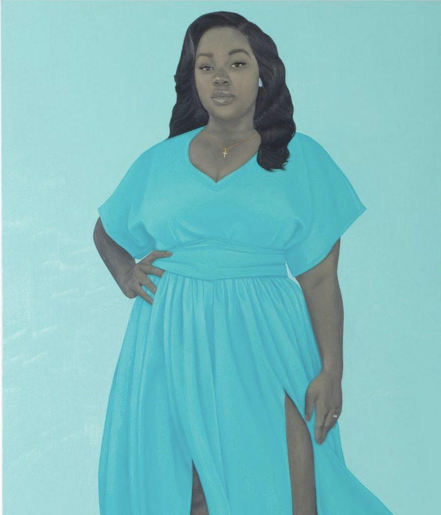 BreonnaTaylor portrait by AmySherald