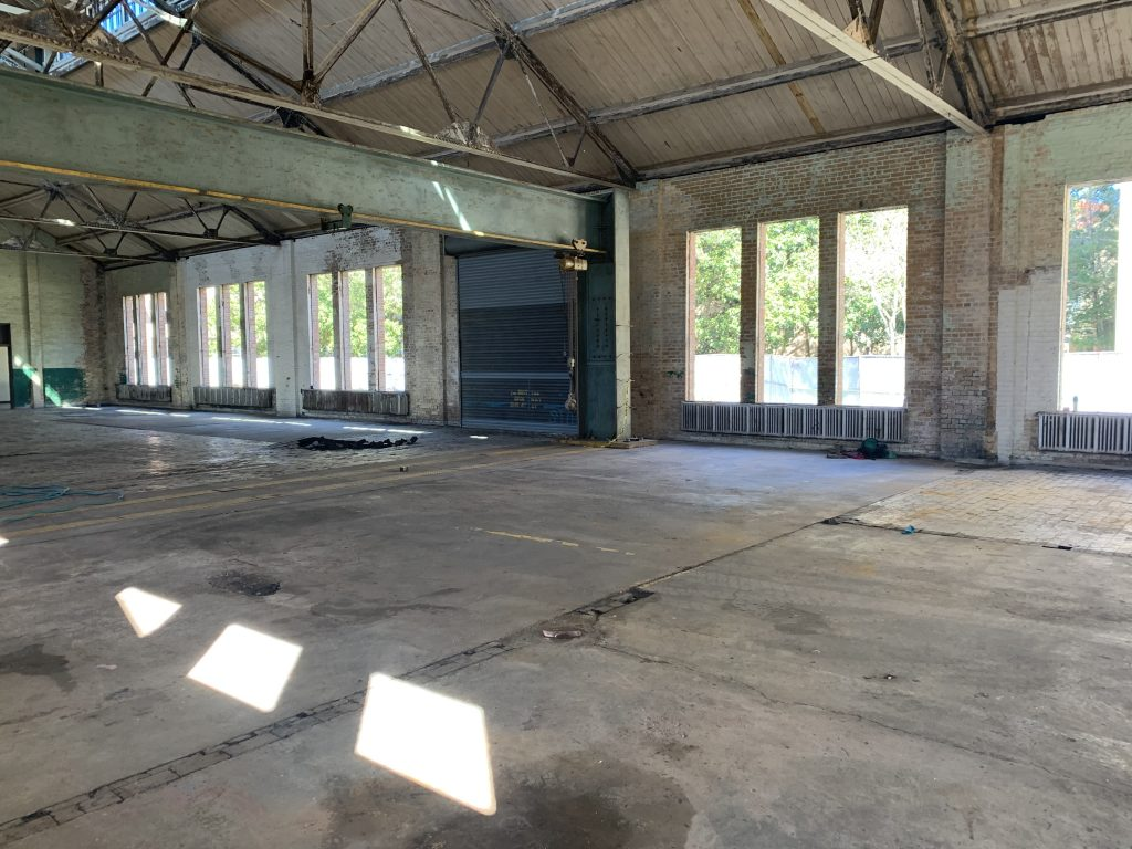 Interior warehouse space