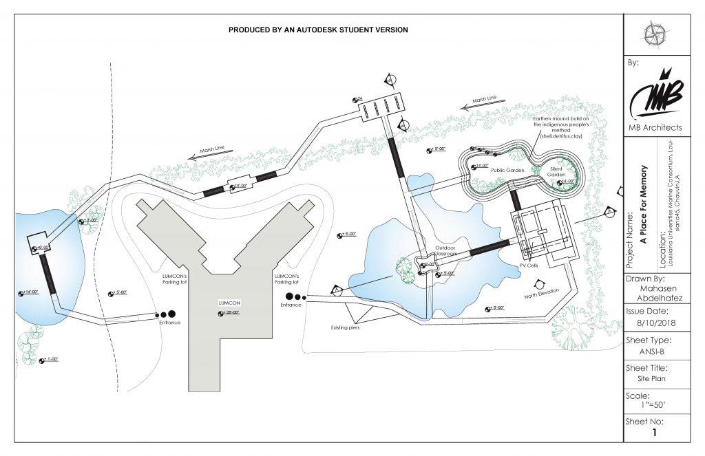 Aerial view plan