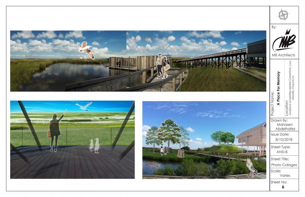 Landscape exterior simulations