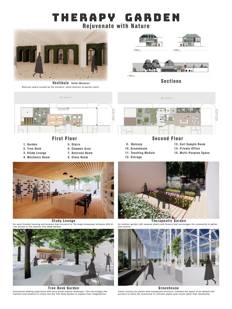 Therapy garden project design